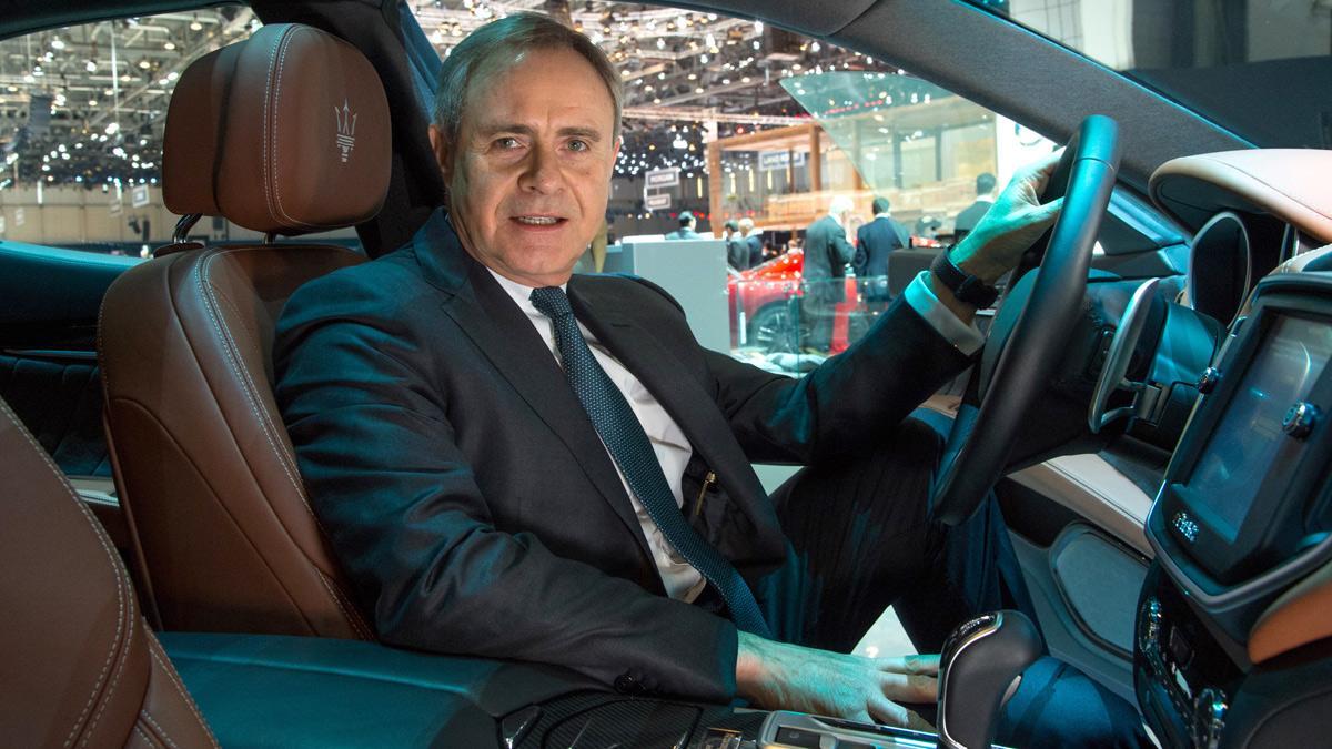 Ermenegildo Zegna firma un acuerdo con Maserati - Harald Wester interior