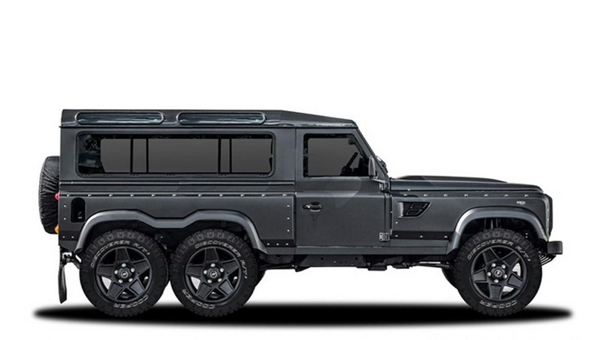 Kahn 'Flying Huntsman' 6x6 Concept lateral