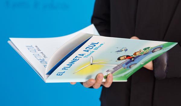 Por el medioambiente: Volkswagen edita un libro para niños