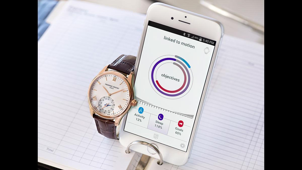 Horological Smartwatch conectado al teléfono móvil