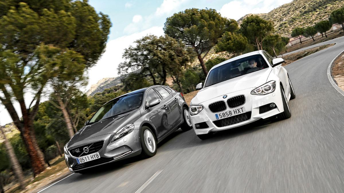 Cara a cara Volvo V40 vs BMW 118d