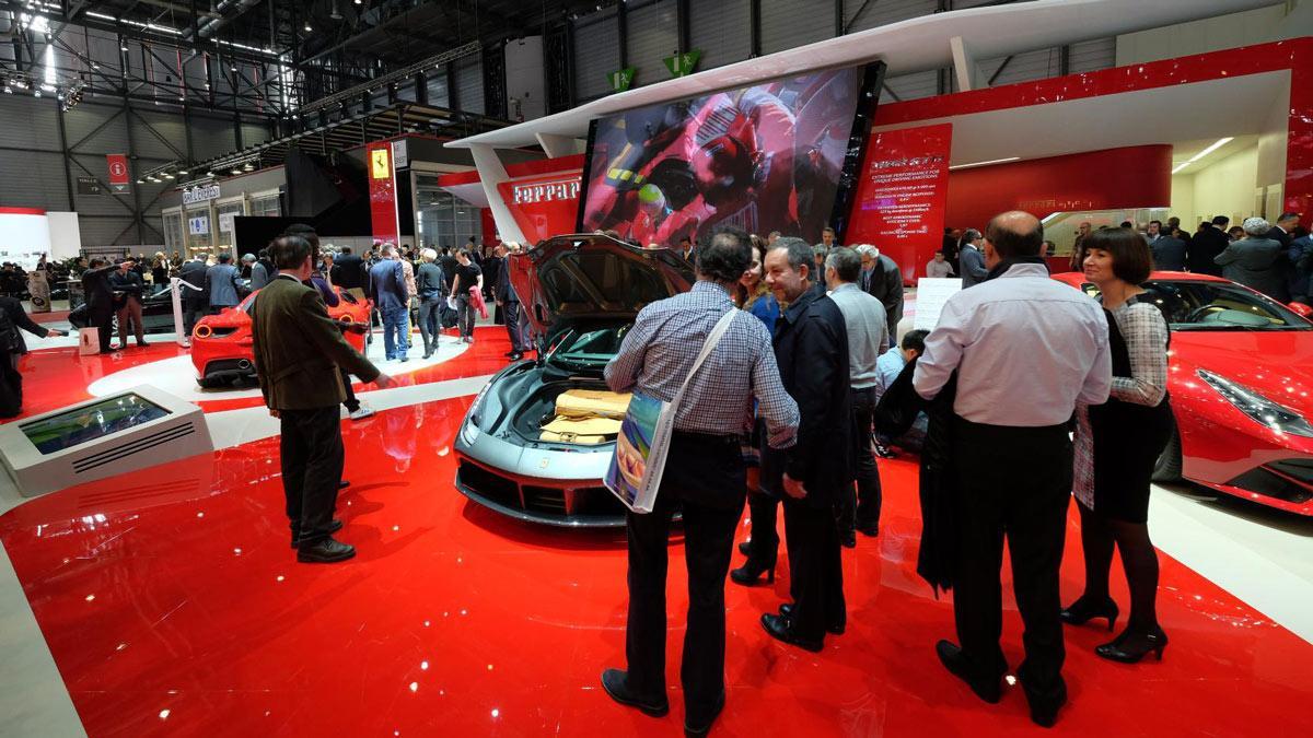 stand de Ferrari
