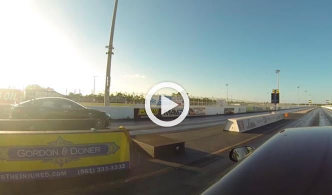 Vídeo: Tesla Model S P85D vs Ferrari F12 Berlinetta