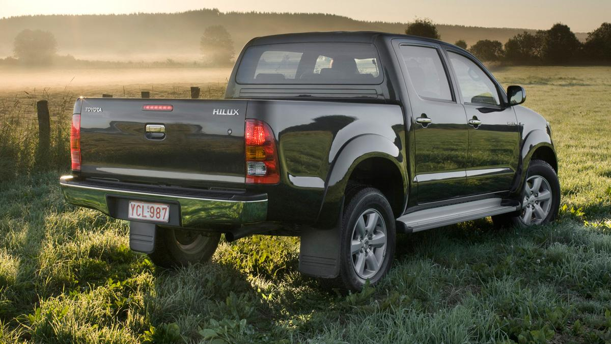 Toyota Hilux trasera