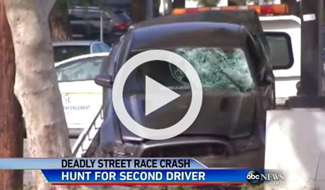 Vídeo: dos espectadores fallecen en una carrera callejera