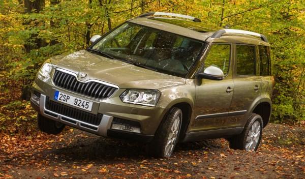 Pillamos un nuevo SUV de Skoda más grande que el Yeti