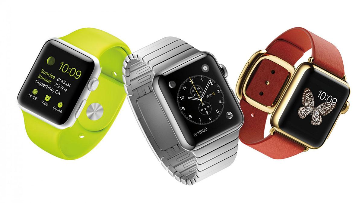 Tres modelos para el Apple Watch