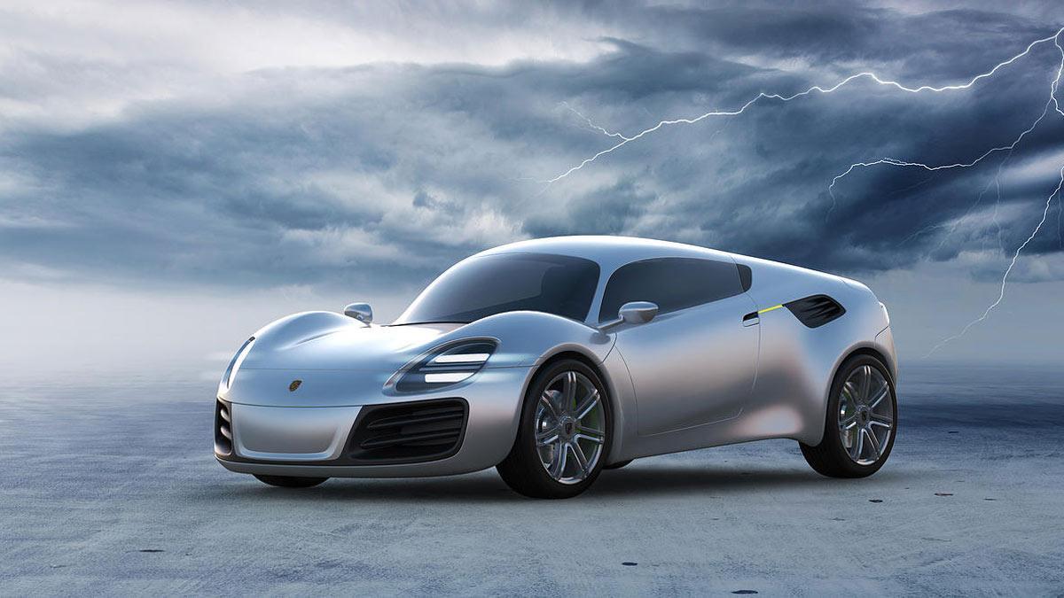Porsche 356e Design Studio