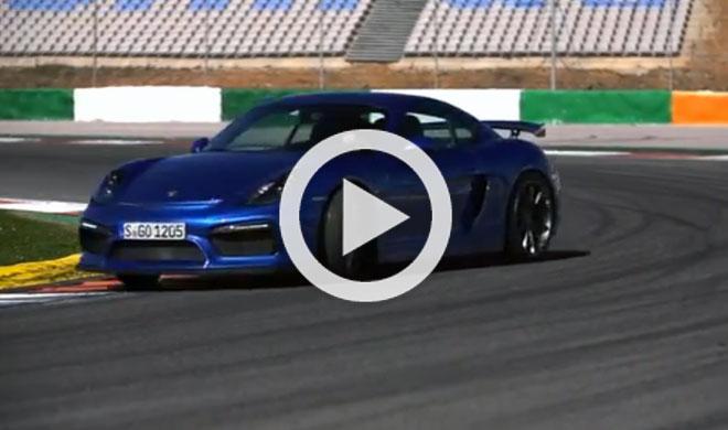 Video: Chris Harris prueba el Porsche Cayman GT4