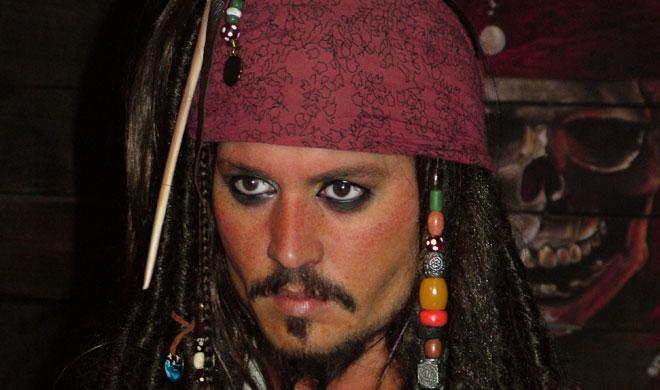 El accidente de Johnny Depp, ¿en una pista de karts?