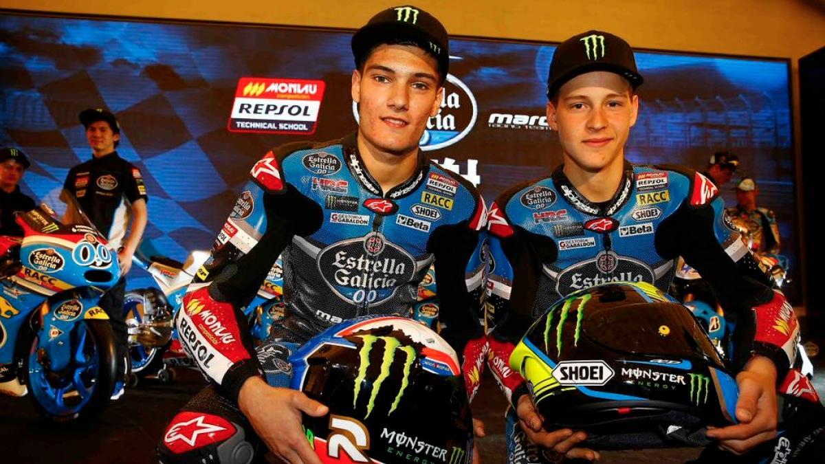 Los últimos test de Moto2 y Moto3 se marchan a Jerez