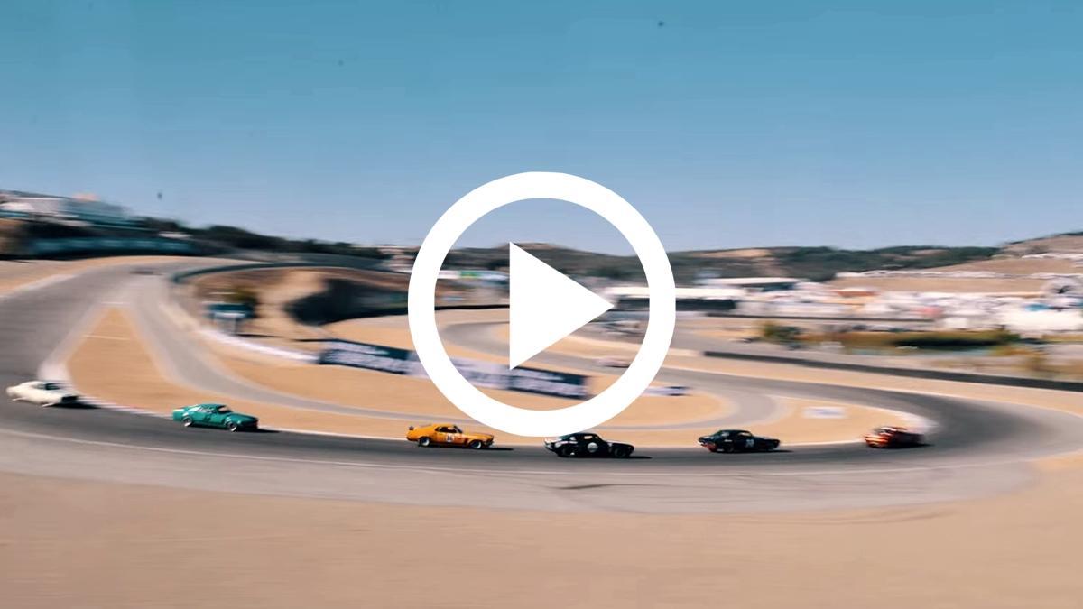 Monterey Motorsports Reunion: un StopMotion de 20.000 fotos