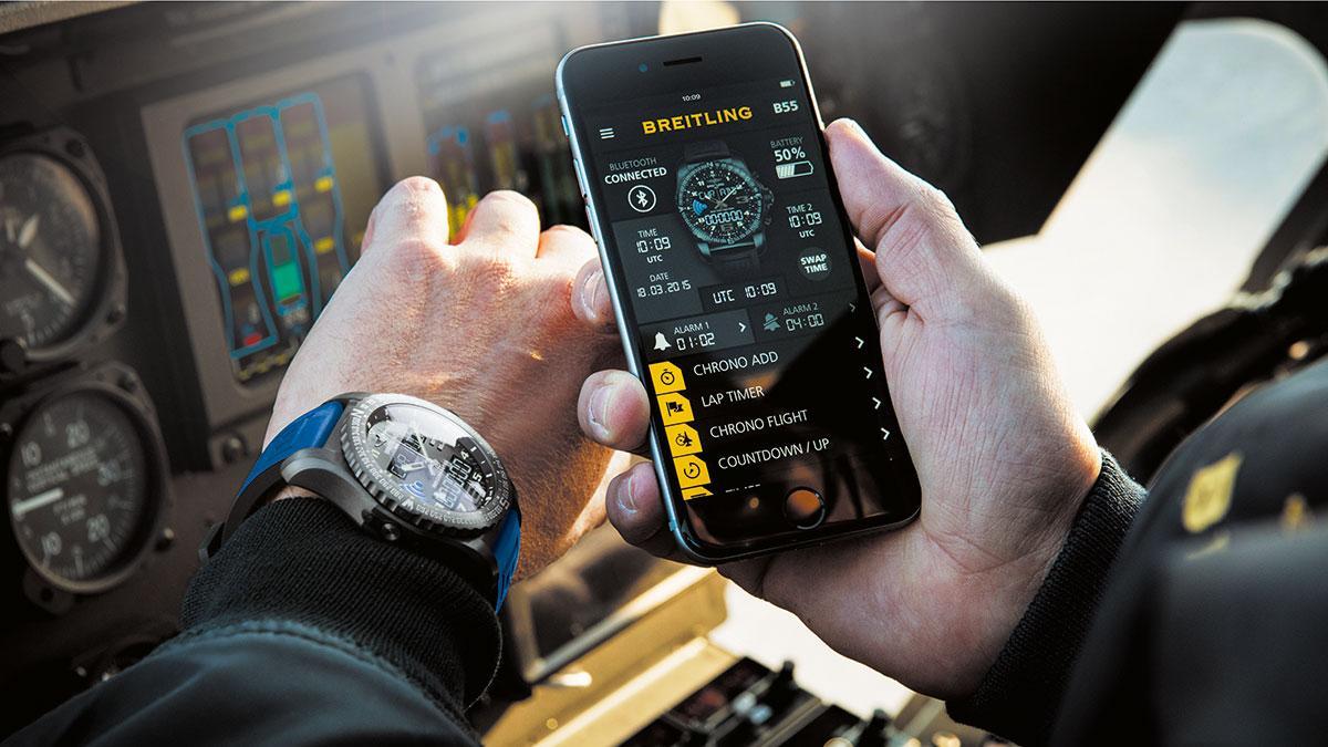Breitling B55 Connected, complementa al smartphone