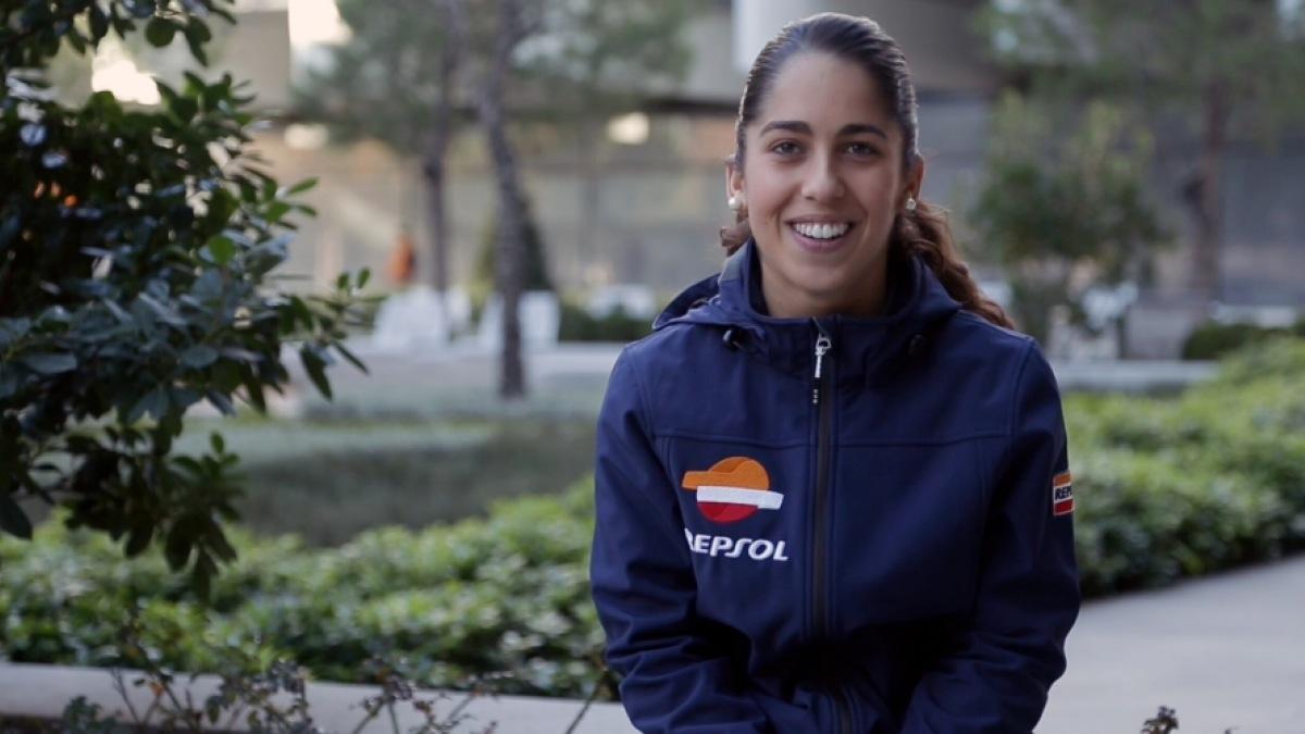 María Herrera llega a Moto3 en 2015 desde el CEV
