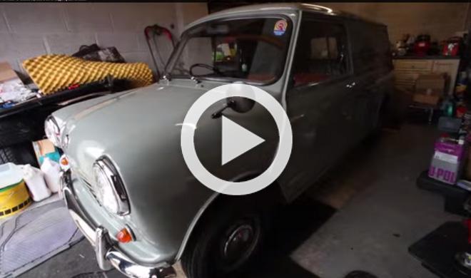 Sale a la venta este Mini del 68 con solo 486 km