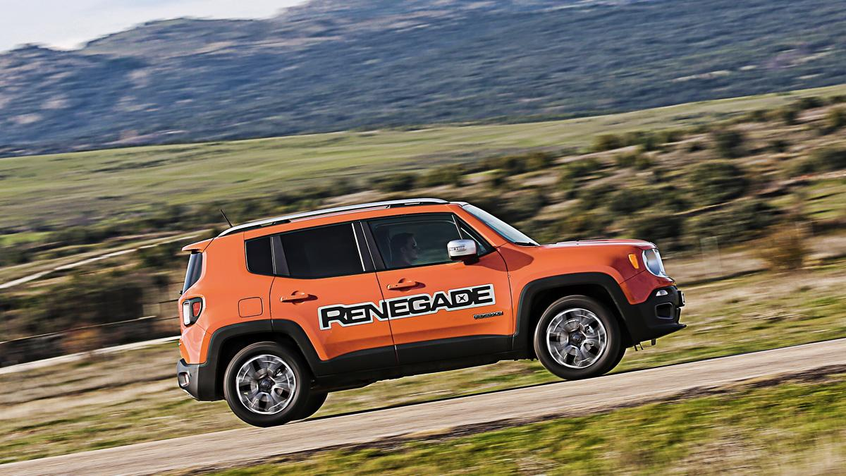 Lateral del Jeep Renegade