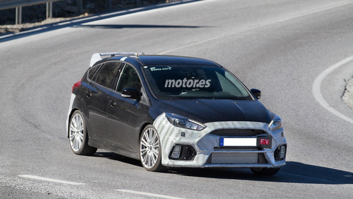 Un Ford Focus RS de 350 CV, ¡cazado y casi confirmado!