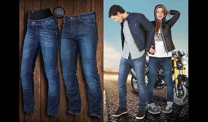 Pantalones vaqueros de moto para hombre y mujer