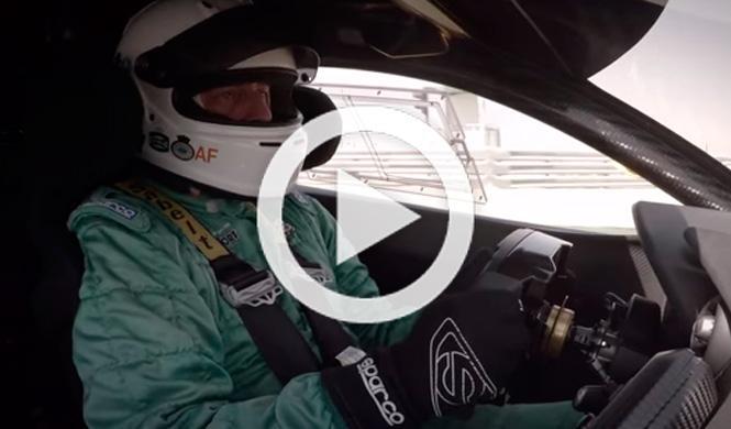 Vídeo: vuelta onboard en el McLaren P1 GTR
