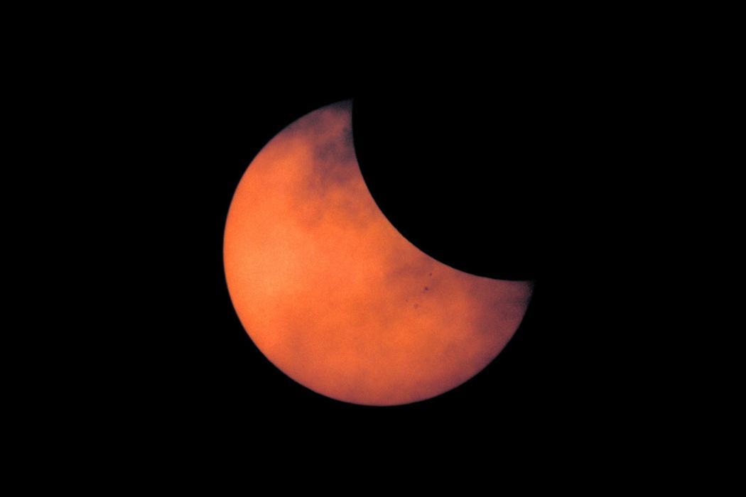 Eclipse de sol parcial