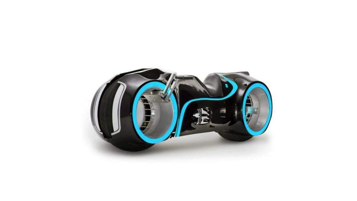 La moto de la peli 'Tron' saldrá a subasta en mayo de 2015