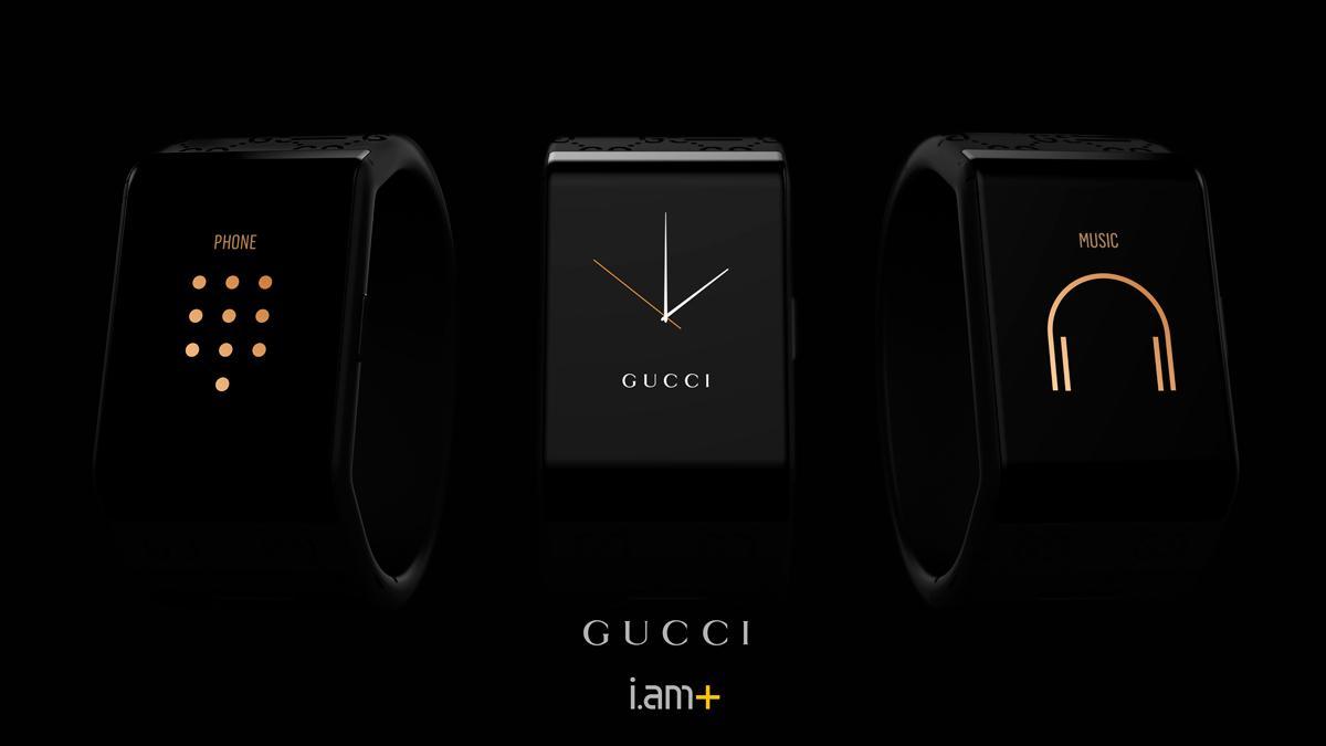 Smartwatch de Will.i.am y Gucci - gama de relojes