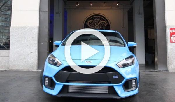 Vídeo: ¡Así suena el Ford Focus RS 2015!