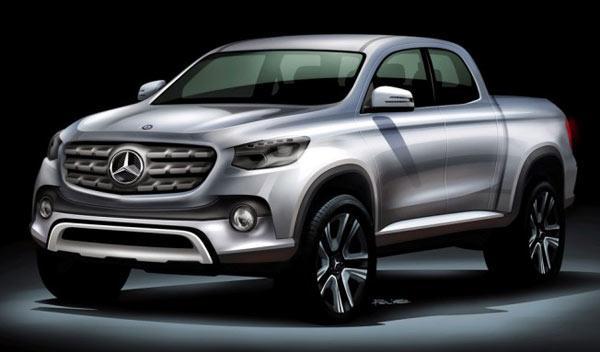 Mercedes lanzará su pick-up antes del año 2020