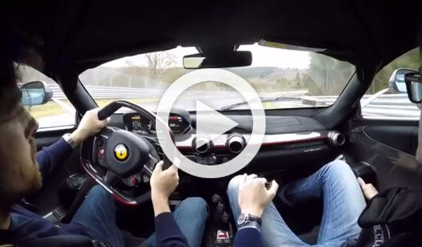 Vídeo 'on-board': Ferrari LaFerrari 'quemando' Nürburgring