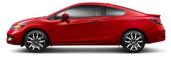 Honda Civic Coupe 2016: cazado por primera vez