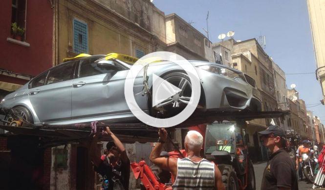 Cazan al BMW M3 2014 en el rodaje de 'Misión Imposible 5'