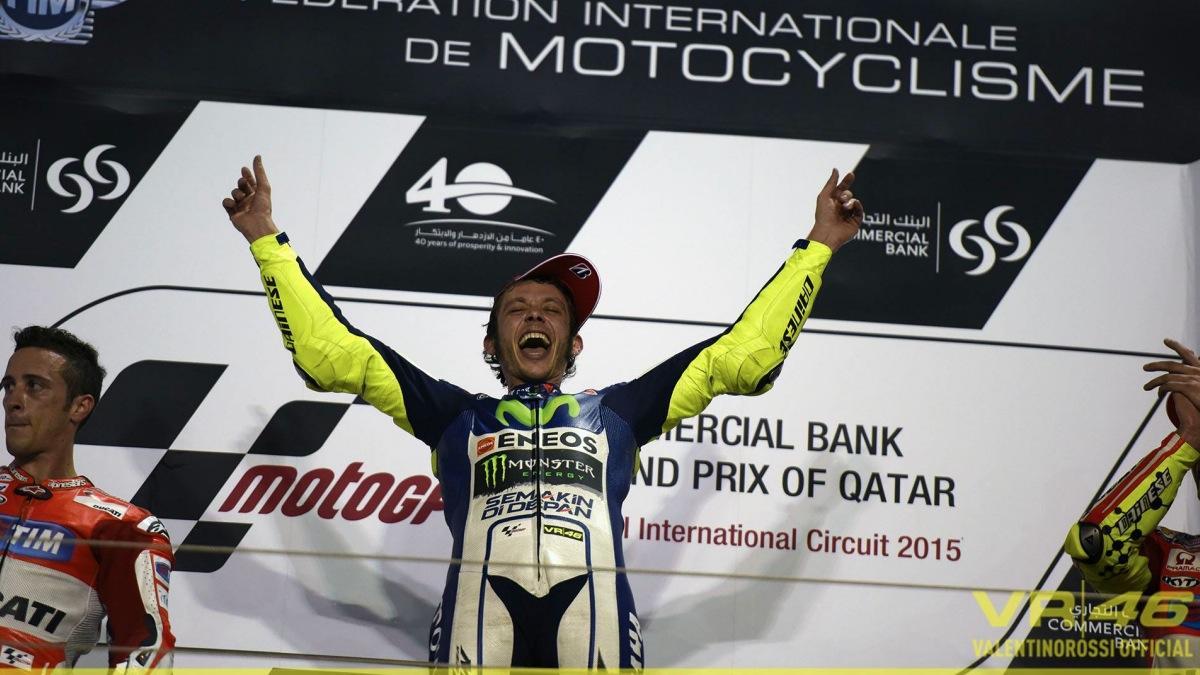 El 'novato' Valentino Rossi
