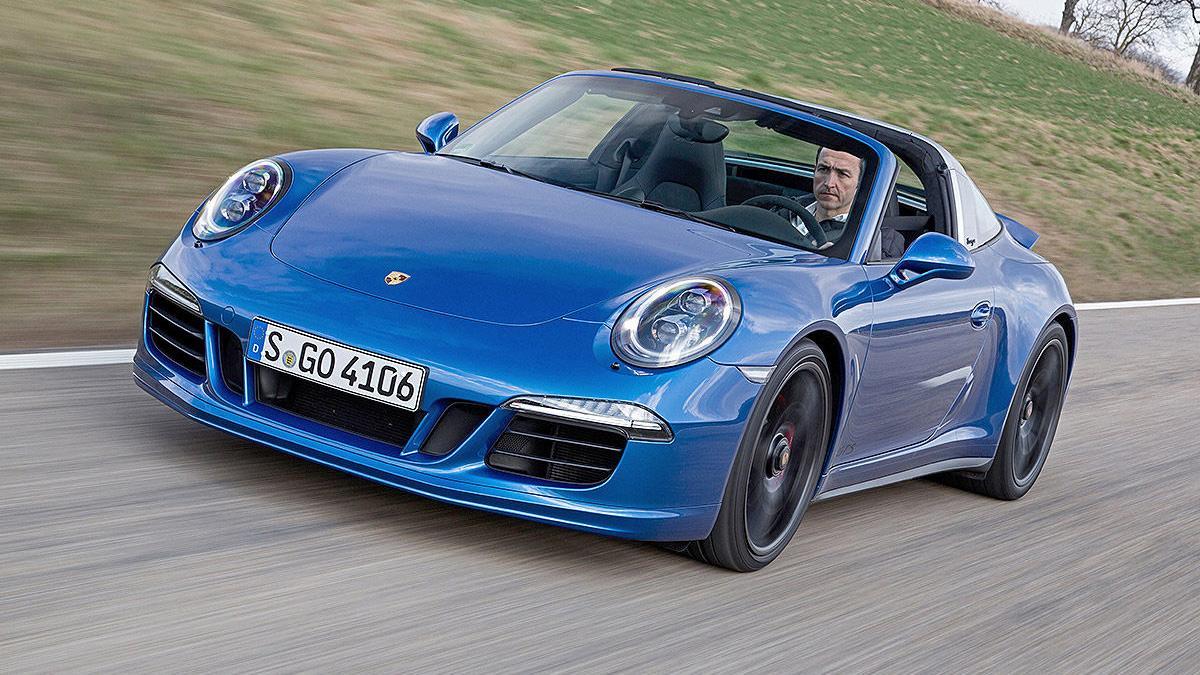Prueba: Porsche 911 Targa GTS