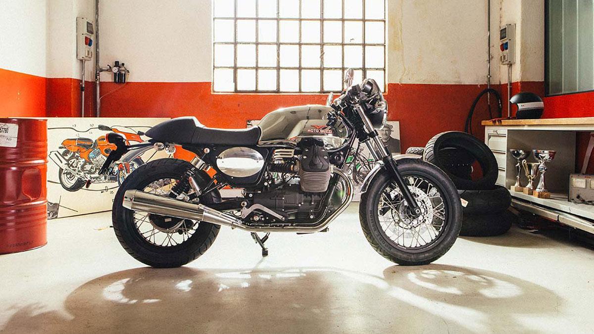 Moto Guzzi V7 y la personalización Garage Moto Guzzi