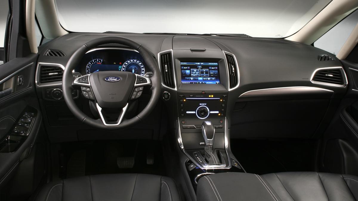 El Ford Galaxy más tecnológico - salpicadero