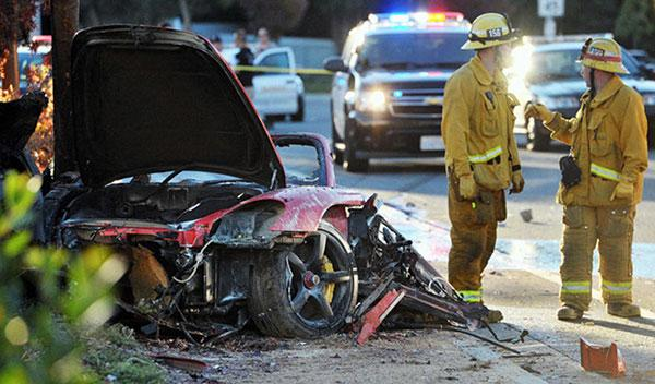 Porsche culpa a Rodas del fatal accidente de Paul Walker