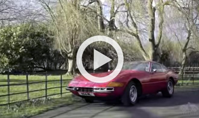 Así se mantiene un Ferrari Daytona
