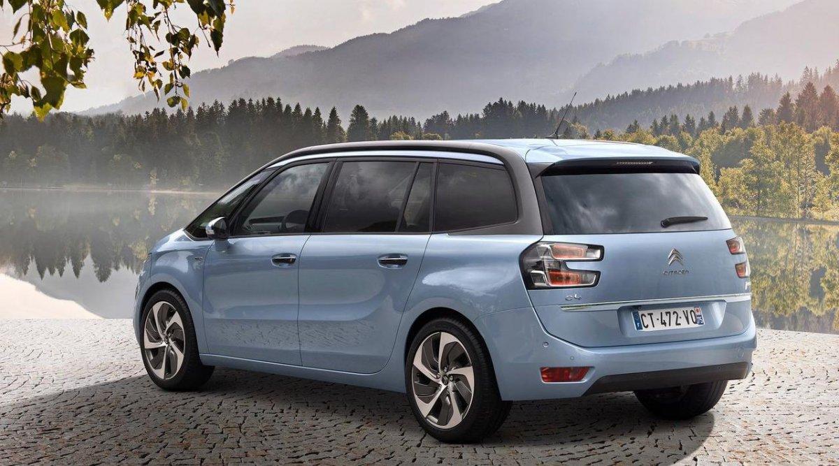 Citroën C4 Grand Picasso trasera