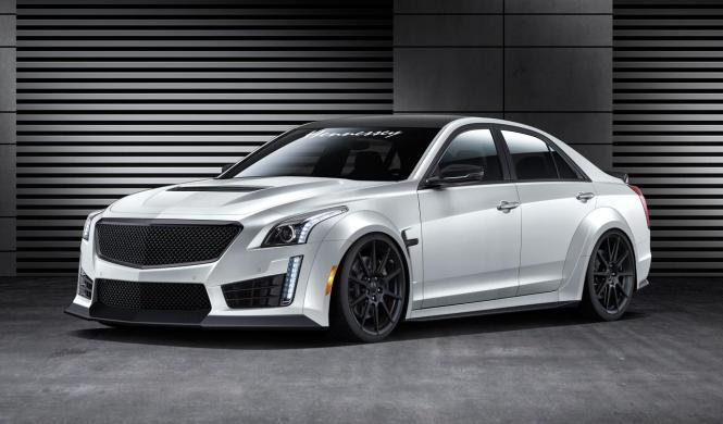 Cadillac CTS-V HPE1000 biturbo: ¡Hennessey lo pone a punto!