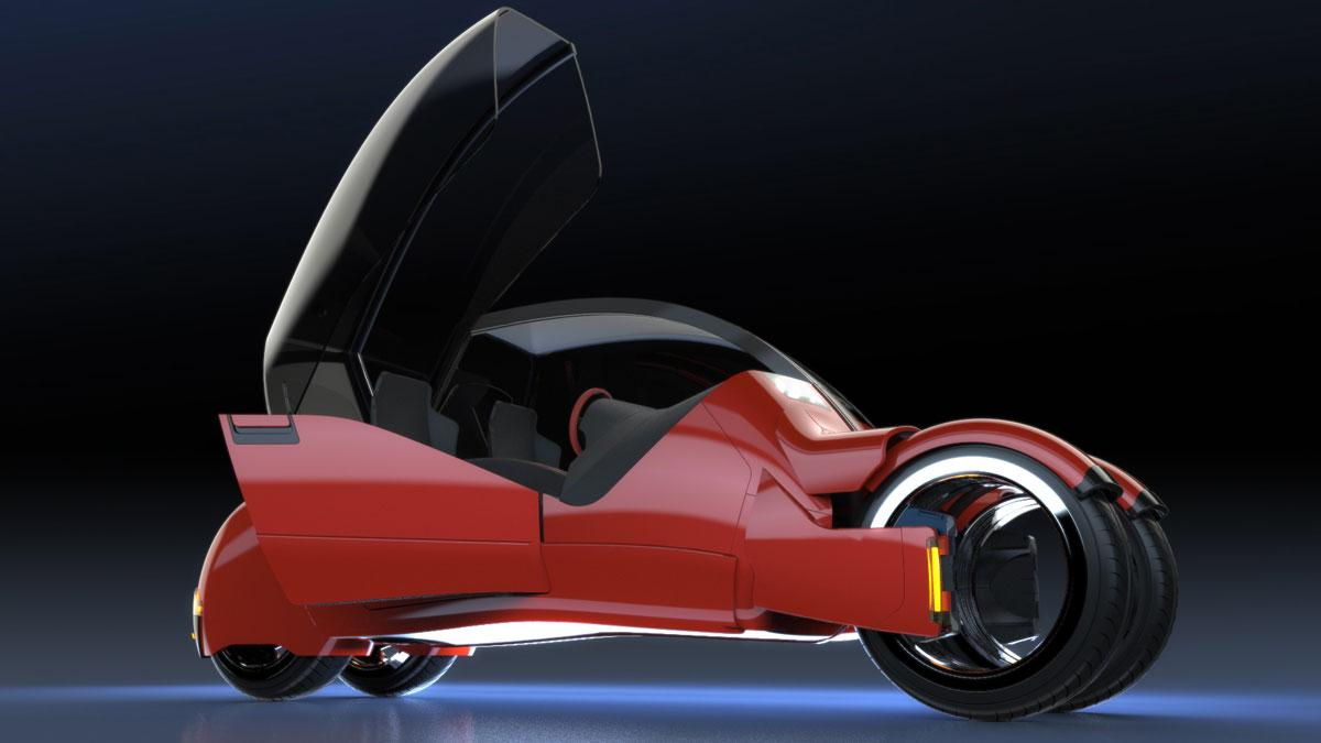 Mark Wilson propone dos motos que juntas equivalen a un coche