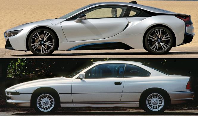 BMW i8 o BMW Serie 8, ¿cuál de los dos te gusta más?