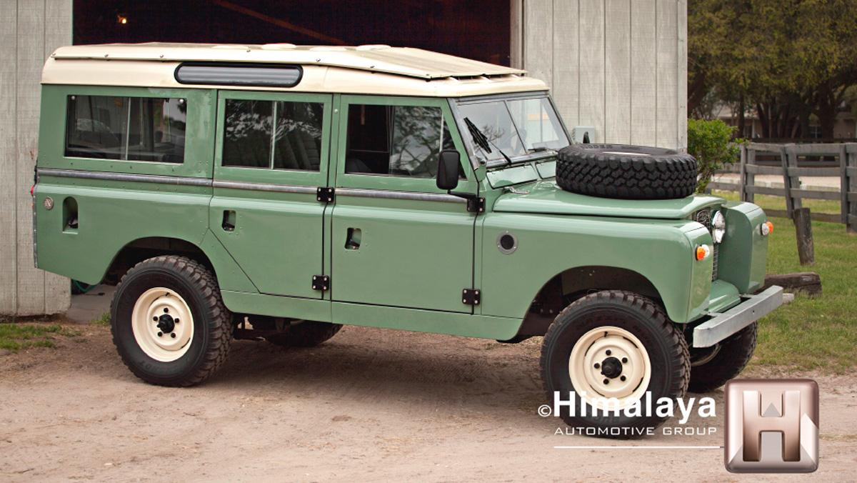 Land Rover modificado