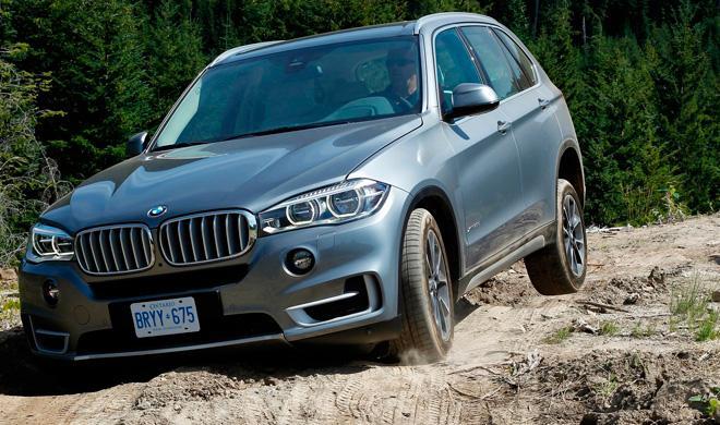 Un test drive del BMW X5 acaba en desastre