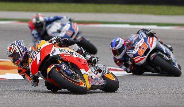 Parrilla de salida MotoGP GP de Las Américas 2015