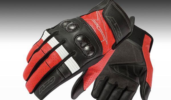Guantes cortos AXO Pro Race XT, de entretiempo