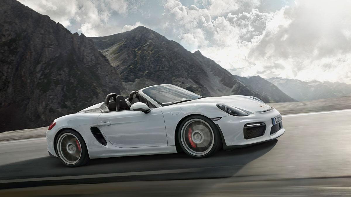 ¿Podría llegar un Porsche Boxster Spyder GT4?