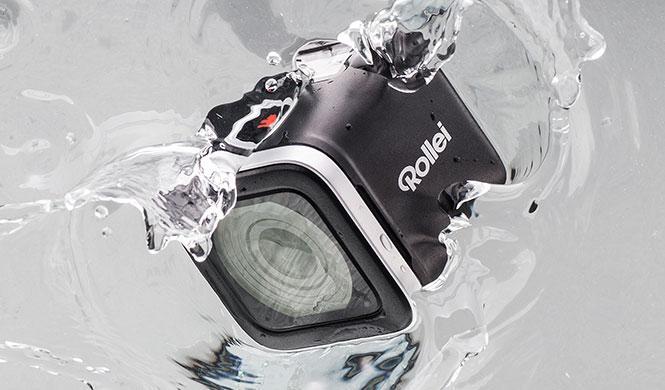 Videocámara Rollei con WiFi: por tierra, mar y aire