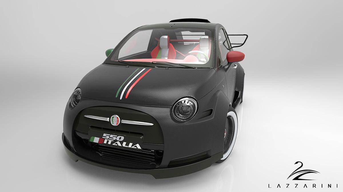 Lazzarini 550 Italia delantera