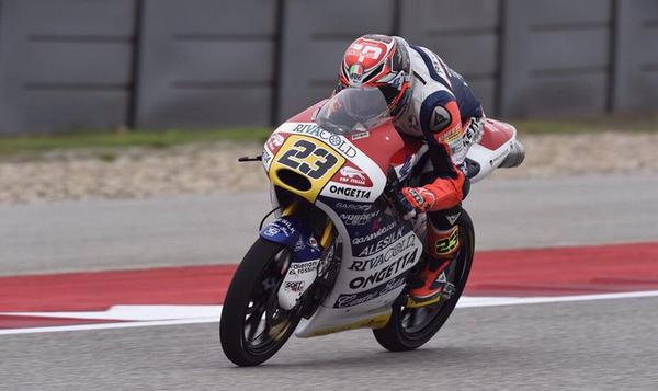 Libres 1 Moto3 GP de Argentina 2015: Antonelli lidera