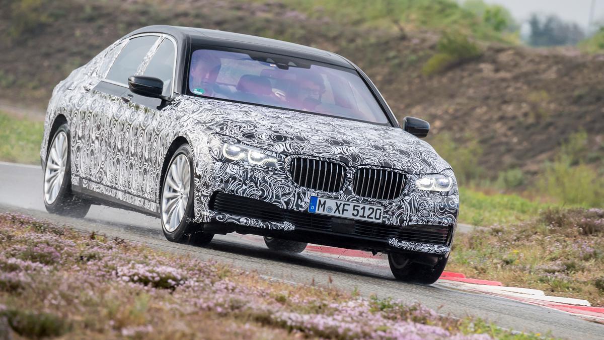 prueba BMW Serie 7 2015
